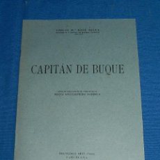 Líneas de navegación: (M) EMILIO M BOIX SELVA - CAPITAN DE BUQUE , DEDICATORIA AUTOGRAFA DEL AUTOR, BARCELONA 1951. Lote 112896695