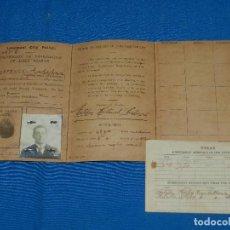 Líneas de navegación: (M) CARNET CERTIFICATE OF REGISTRATION OF ALIEN SEAMAN , LIVERPOOL CITY POLICE 1921. Lote 112896947