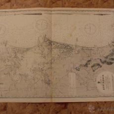 Líneas de navegación: CARTA NÁUTICA COSTA AUSTRALIA.. Lote 113882471