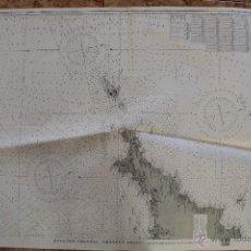 Líneas de navegación: CARTA NÁUTICA CANAL REINO UNIDO. Lote 113882671