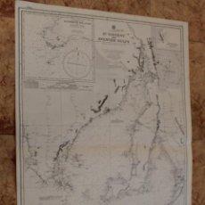 Líneas de navegación: CARTA NÁUTICA COSTA AUSTRALIA.. Lote 113886823