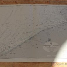Líneas de navegación: CARTA NÁUTICA COSTA DUNKERQUE. Lote 113888663