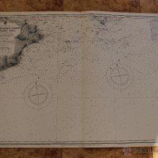Líneas de navegación: CARTA NÁUTICA COSTA REINO UNIDO . Lote 113893207