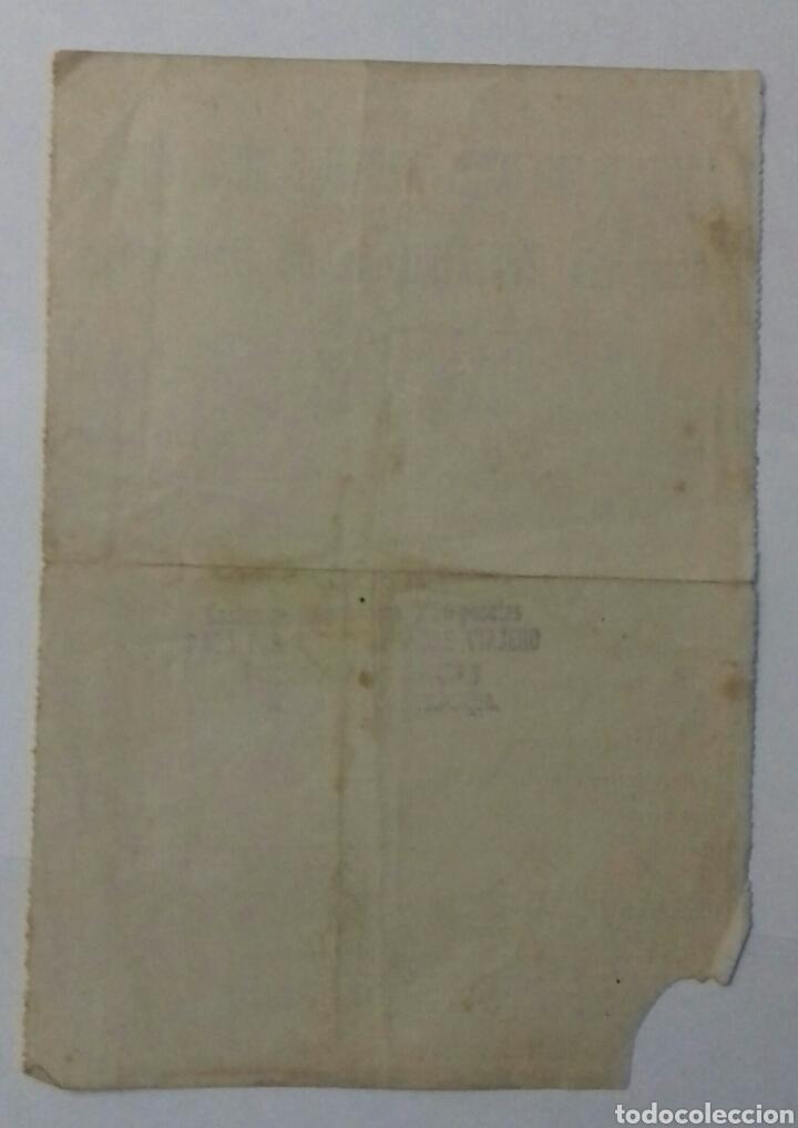 Líneas de navegación: Compañia trasatlantica de Barcelona 1919. Billete - Foto 2 - 117251808