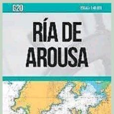 Líneas de navegación: CARTA NAUTICA RIA DE AROUSA. Lote 119534542