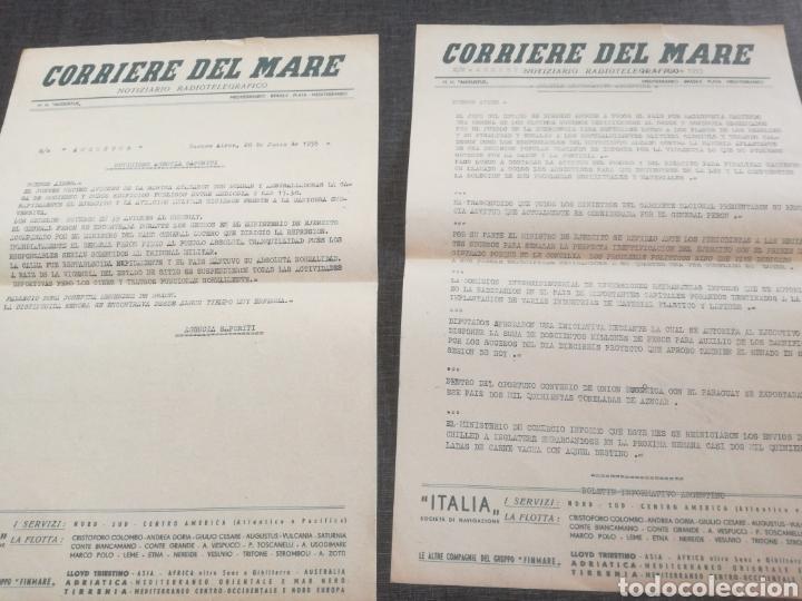 Líneas de navegación: CRUCERO AUGUSTUS (1955): LISTA PASAJEROS, MENÚS, PROGRAMAS DIARIOS, INFORMATIVO BOMBARDEO PLAZA MAYO - Foto 9 - 120126735