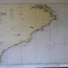 Líneas de navegación: ALICANTE. CARTA NÁUTICA DE CABO HUERTAS AL DE SAN ANTONIO INST.HIDROGR.MARINA CÁDIZ 1963. Lote 147334161