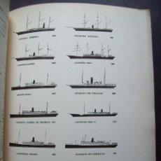 Líneas de navegación: COMPAÑIA TRASATLANTICA ESPAÑOLA,S.A. MEMORIA CORRESPONDIENTE AL AÑO 1961. HISTORIA DE LA COMPAÑIA. Lote 121479503