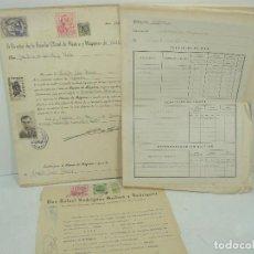Linhas de navegação: LOTE DOCUMENTOS - TITULO ESCUELA OFICIAL DE NAUTICA Y MAQUINAS - BILBAO AÑO 1954 - DOCUMENTACION. Lote 121847071