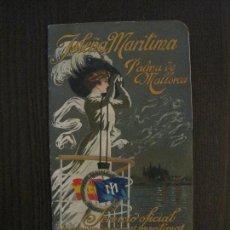 Líneas de navegación: ISLEÑA MARITIMA - PALMA MALLORCA- COMUNICACIONES MARITIMAS -AÑO 1914 -VER FOTOS-(V-14.580). Lote 121894879