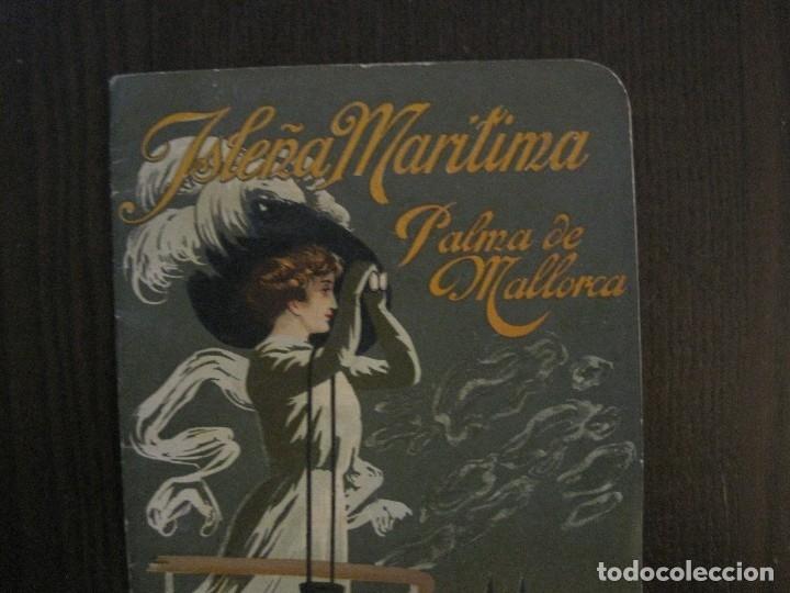 Líneas de navegación: ISLEÑA MARITIMA - PALMA MALLORCA- COMUNICACIONES MARITIMAS -AÑO 1914 -VER FOTOS-(V-14.580) - Foto 3 - 121894879