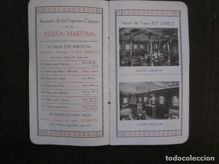 Líneas de navegación: ISLEÑA MARITIMA - PALMA MALLORCA- COMUNICACIONES MARITIMAS -AÑO 1914 -VER FOTOS-(V-14.580) - Foto 8 - 121894879