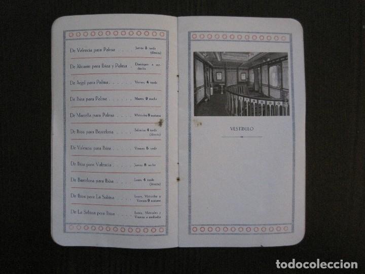 Líneas de navegación: ISLEÑA MARITIMA - PALMA MALLORCA- COMUNICACIONES MARITIMAS -AÑO 1914 -VER FOTOS-(V-14.580) - Foto 9 - 121894879