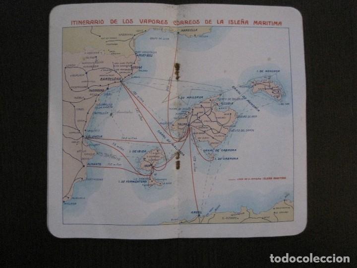 Líneas de navegación: ISLEÑA MARITIMA - PALMA MALLORCA- COMUNICACIONES MARITIMAS -AÑO 1914 -VER FOTOS-(V-14.580) - Foto 11 - 121894879