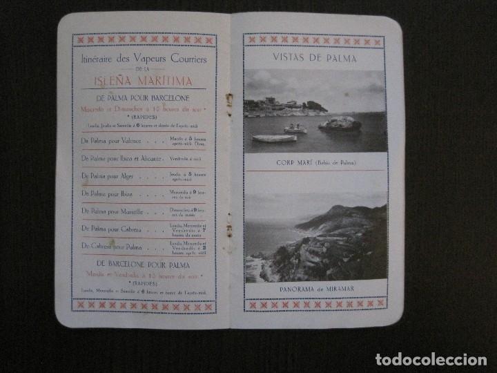 Líneas de navegación: ISLEÑA MARITIMA - PALMA MALLORCA- COMUNICACIONES MARITIMAS -AÑO 1914 -VER FOTOS-(V-14.580) - Foto 12 - 121894879
