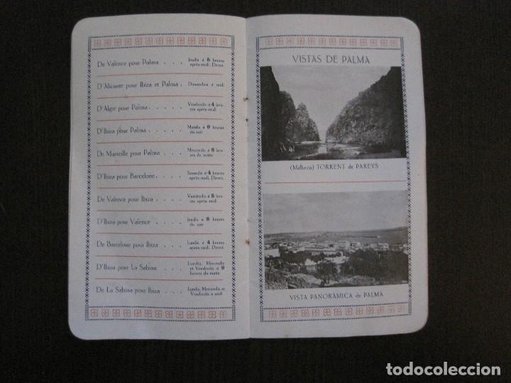 Líneas de navegación: ISLEÑA MARITIMA - PALMA MALLORCA- COMUNICACIONES MARITIMAS -AÑO 1914 -VER FOTOS-(V-14.580) - Foto 13 - 121894879