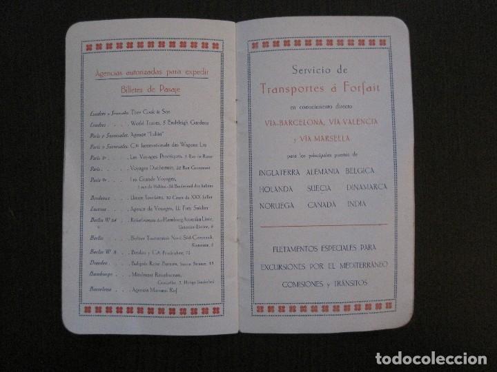 Líneas de navegación: ISLEÑA MARITIMA - PALMA MALLORCA- COMUNICACIONES MARITIMAS -AÑO 1914 -VER FOTOS-(V-14.580) - Foto 15 - 121894879