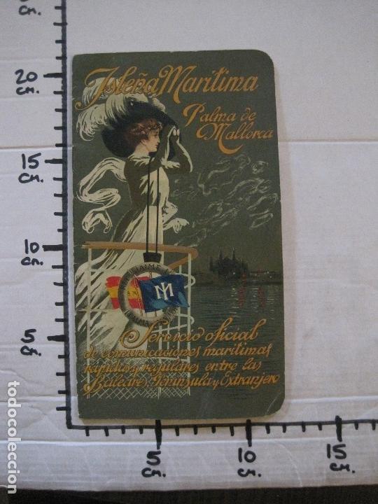Líneas de navegación: ISLEÑA MARITIMA - PALMA MALLORCA- COMUNICACIONES MARITIMAS -AÑO 1914 -VER FOTOS-(V-14.580) - Foto 18 - 121894879