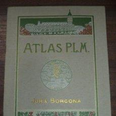 Líneas de navegación: ATLAS P. L. M. JURA BORGOÑA. FERROCARRILES DE PARIS- LYON MEDITERRANEO. . Lote 123122079