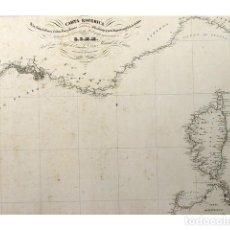 Líneas de navegación: BRYANT - SENO MEJICANO. HOJA I. PARTE MERIDIONAL CON LA SONDA DE CAMPECHE Y CANAL DE YUCATAN. Lote 124499151