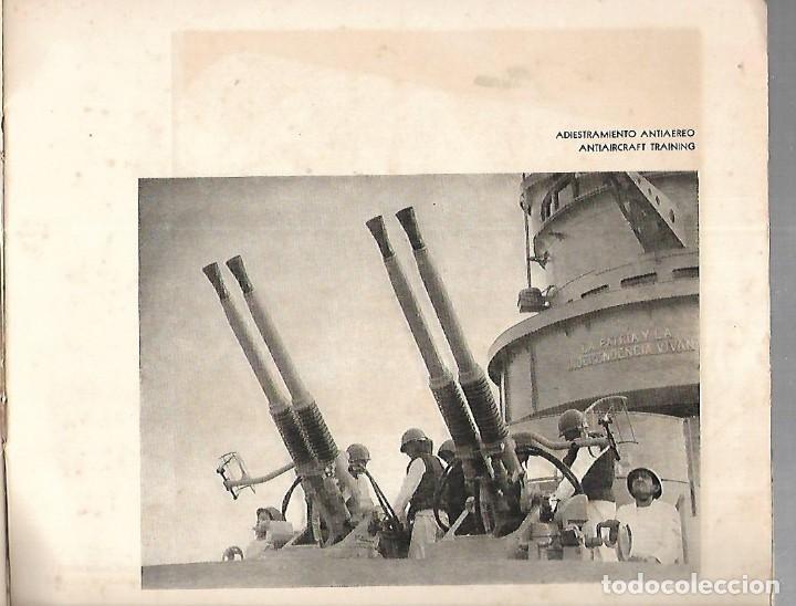 Líneas de navegación: CATALOGO. FRAGATA A.R.A. LIBERTAD. ARMADA ARGENTINA. VIAJE DE INSTRUCCION 1963. VER FOTOS. 26 X 23CM - Foto 4 - 126631331