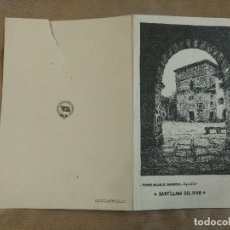 Líneas de navegación: BAILES Y MENU BARCO CRISTOBAL COLON 1930. COMPAÑIA TRASATLANTICA BARCELONA. SANTILLANA MAR. Lote 127920279