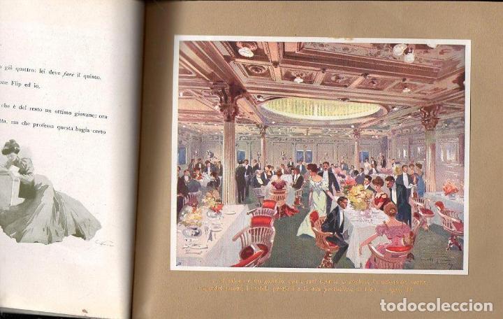 Líneas de navegación: DA GENOVA AL PLATA SUL PRINCIPE DI UDINE LLOYD SABAUDO (1907) - Foto 2 - 128124899