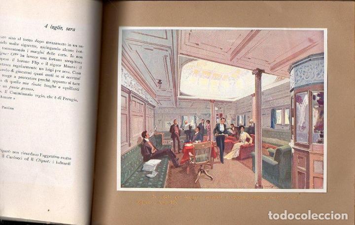 Líneas de navegación: DA GENOVA AL PLATA SUL PRINCIPE DI UDINE LLOYD SABAUDO (1907) - Foto 3 - 128124899