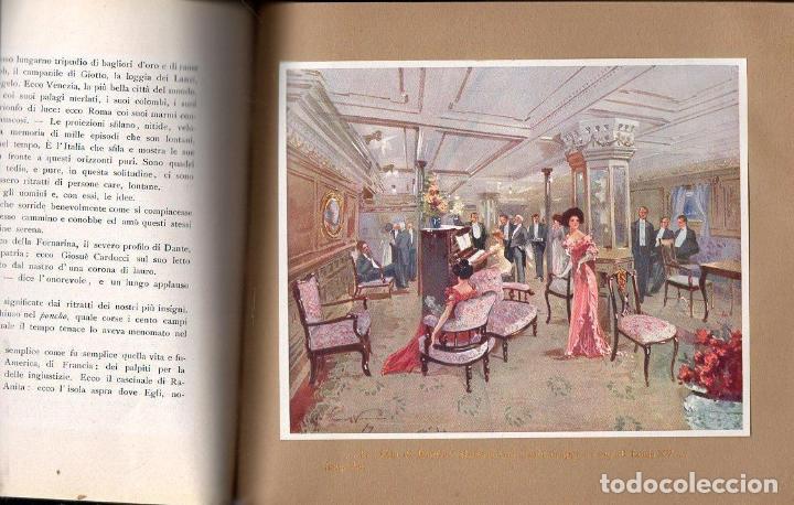 Líneas de navegación: DA GENOVA AL PLATA SUL PRINCIPE DI UDINE LLOYD SABAUDO (1907) - Foto 4 - 128124899