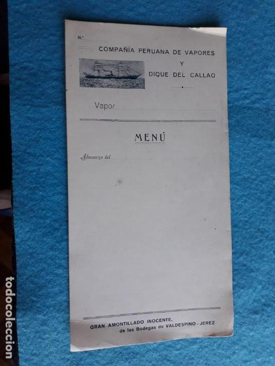Líneas de navegación: Compañías Peruana de vapores y dique del Callao. - Foto 2 - 134318926
