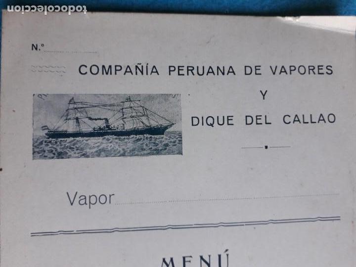 COMPAÑÍAS PERUANA DE VAPORES Y DIQUE DEL CALLAO. (Coleccionismo - Líneas de Navegación)