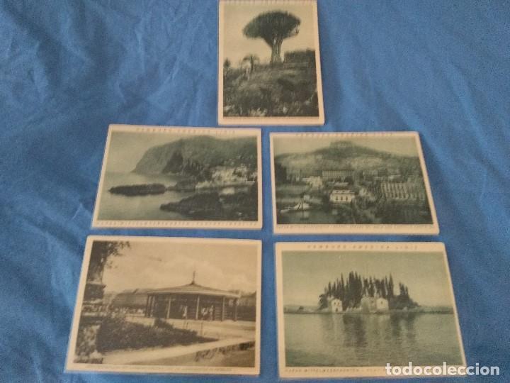 CINCO POSTALES PAISAJES CA 1925/30 HAPAG HAMBURG AMERIKA LINIE (Coleccionismo - Líneas de Navegación)