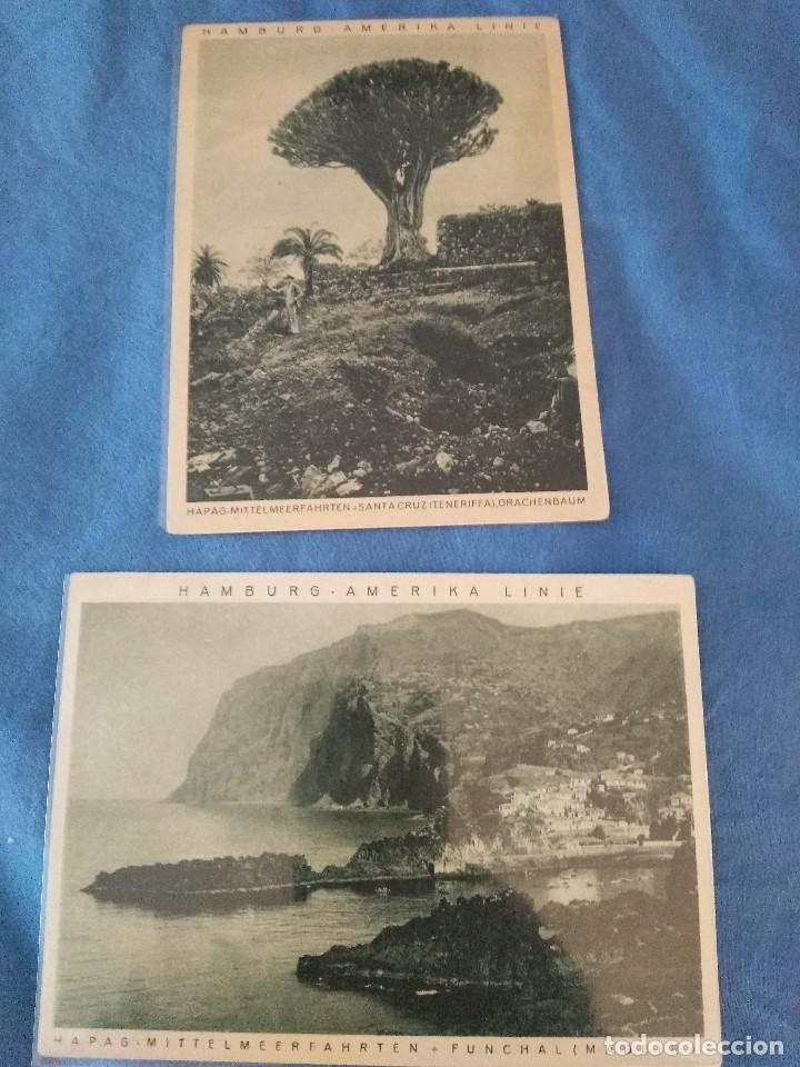 Líneas de navegación: Cinco postales paisajes ca 1925/30 HAPAG Hamburg Amerika Linie - Foto 2 - 137899702