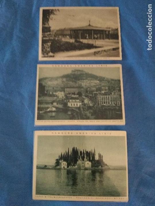 Líneas de navegación: Cinco postales paisajes ca 1925/30 HAPAG Hamburg Amerika Linie - Foto 3 - 137899702