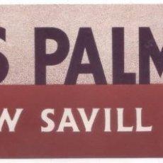 Líneas de navegación: ETIQUETA DE EQUIPAJE DE LA NAVIERA SHAW SAVILL LINE - LAS PALMAS DE GRAN CANARIA (AÑOS 20 - 30). Lote 145277646