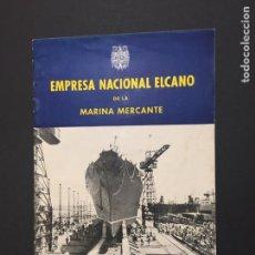 Líneas de navegación: EMPRESA NACIONAL ELCANO DE LA MARINA MERCANTE.. Lote 147906217