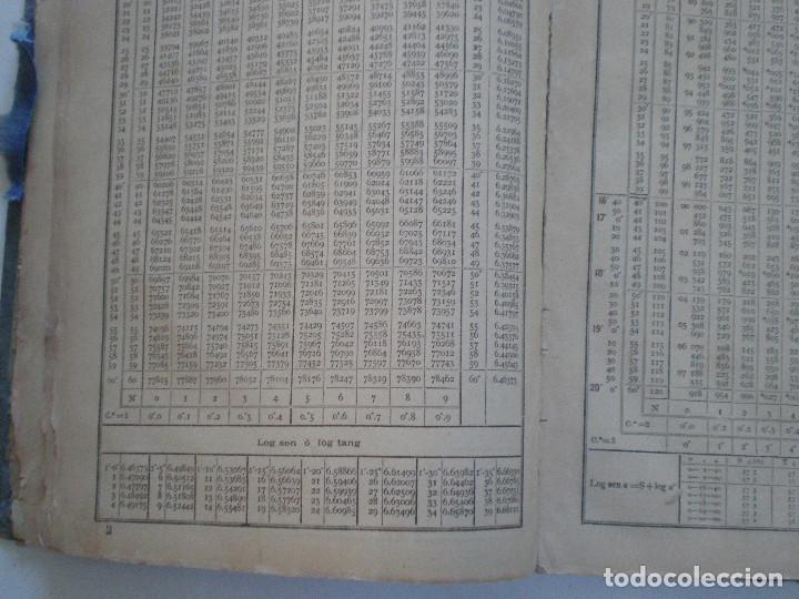 Líneas de navegación: COLECCION DE TABLAS NAUTICAS - FRANCISCO GRAIÑO - EL CORREO GALLEGO 1905 // SELLO R. DEL VILLAR - Foto 15 - 148538878