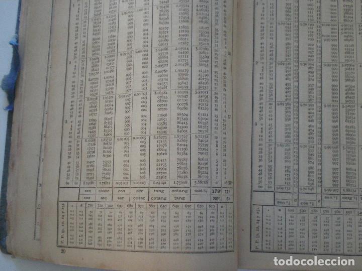Líneas de navegación: COLECCION DE TABLAS NAUTICAS - FRANCISCO GRAIÑO - EL CORREO GALLEGO 1905 // SELLO R. DEL VILLAR - Foto 17 - 148538878
