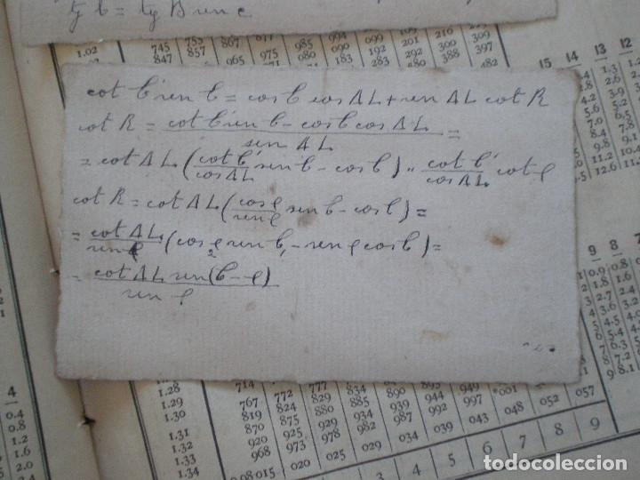 Líneas de navegación: COLECCION DE TABLAS NAUTICAS - FRANCISCO GRAIÑO - EL CORREO GALLEGO 1905 // SELLO R. DEL VILLAR - Foto 20 - 148538878