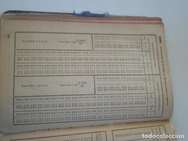 Líneas de navegación: COLECCION DE TABLAS NAUTICAS - FRANCISCO GRAIÑO - EL CORREO GALLEGO 1905 // SELLO R. DEL VILLAR - Foto 29 - 148538878