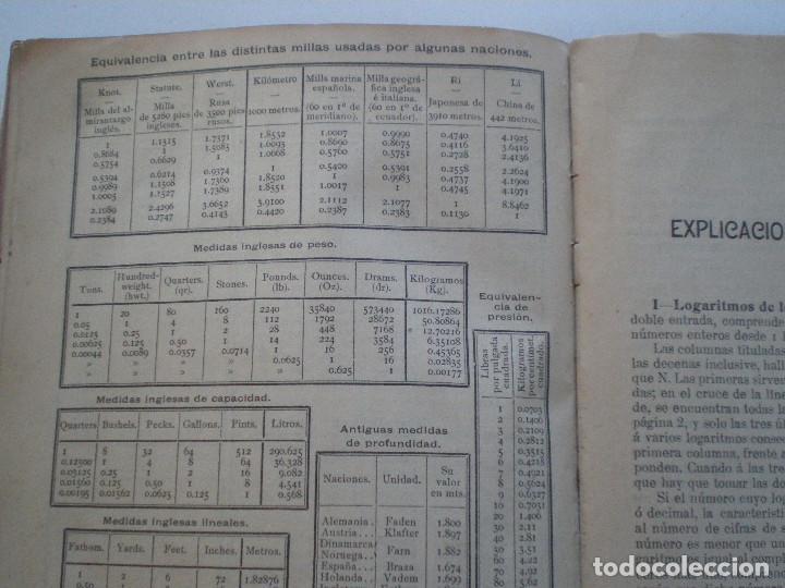 Líneas de navegación: COLECCION DE TABLAS NAUTICAS - FRANCISCO GRAIÑO - EL CORREO GALLEGO 1905 // SELLO R. DEL VILLAR - Foto 33 - 148538878