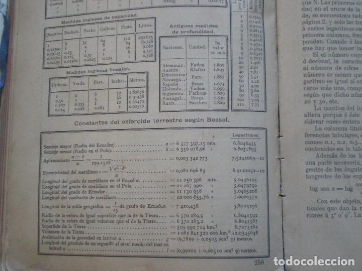 Líneas de navegación: COLECCION DE TABLAS NAUTICAS - FRANCISCO GRAIÑO - EL CORREO GALLEGO 1905 // SELLO R. DEL VILLAR - Foto 34 - 148538878