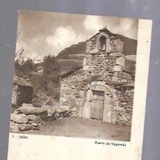 Líneas de navegación: MENU DEL PERSONAL SUBALTERNO. VAPOR MARQUES DE COMILLAS. 1936. IMAGEN DE LEON. VER DORSO. Lote 151753558