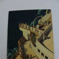 Líneas de navegación: PR- 870. PROGRAMA CUNARD WHITE STAR CRUISE TO GREECE, ITALY AND THE RIVIERA. HOMERIC. 1935.. Lote 154816770