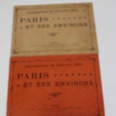 Líneas de navegación: PR-904. PARIS ET SES ENVIRONS INONDATIONS DE JANVIER 1910. 3 NUMEROS: 2,4 Y 5.. Lote 155599266