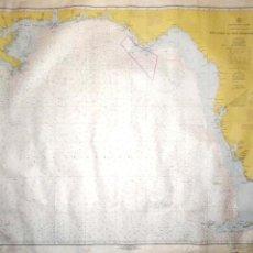Líneas de navegación: CARTA DE NAVEGACION. KEY WEST TO THE MISSISSIPI RIVER. PROVISIONAL CHART- UNITED STATES. LEER.. Lote 155991370