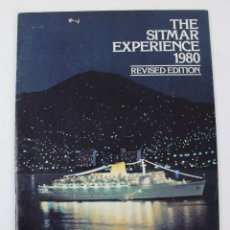Líneas de navegación: PR- 954. FOLLETO THE SITMAR EXPERIENCE 1980. REVISED EDITION.. Lote 156069994