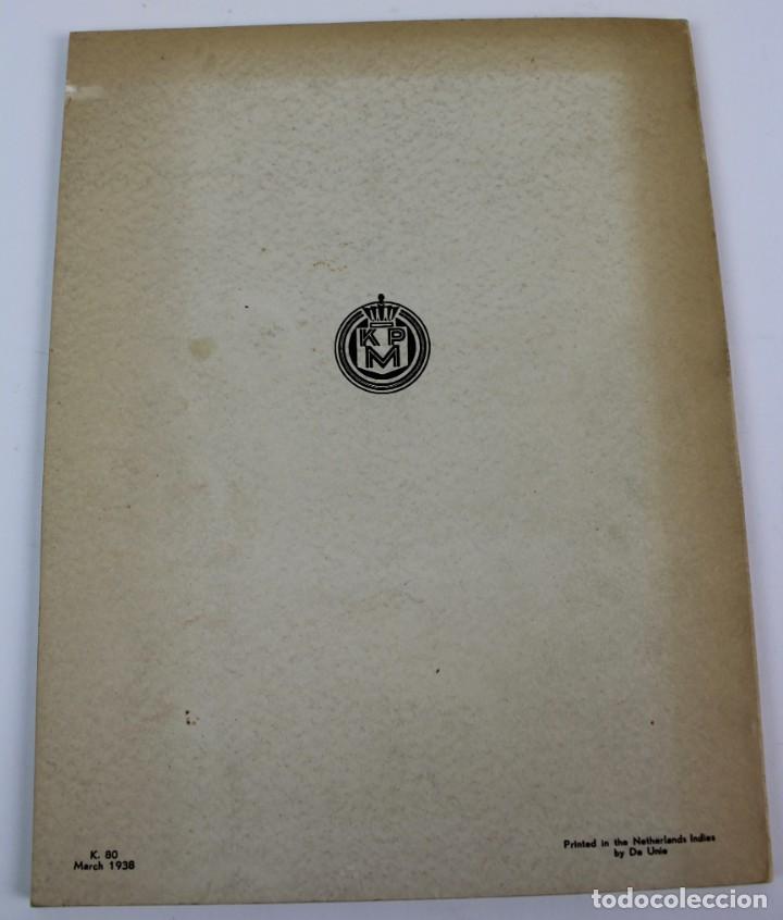 Líneas de navegación: PR-967. FOLLETO ORIENT JAVA, AFRICA LINE. FOLLOW THE TRACK OF THE ANCIENT NAVIGATORS. 1938. - Foto 7 - 156174286