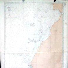 Líneas de navegación: CARTA DE NAVEGACION. OCEAN ATLANTIQUE NORD. LISBOA. 1978. LEER.. Lote 156783086