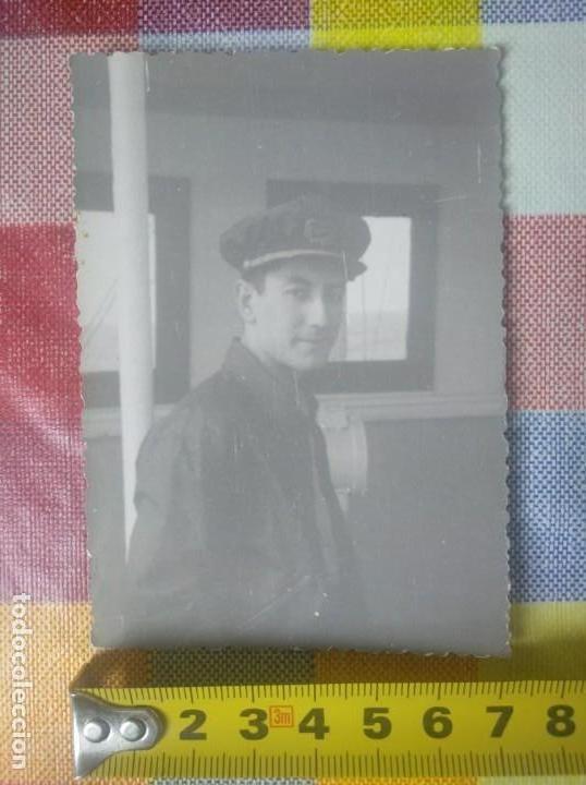 FOTO ANTIGUA OFICIAL MARINA MERCANTE (Coleccionismo - Líneas de Navegación)